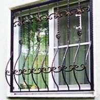 Кованые решетки на окна в Туле