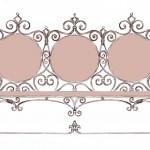 Кованая мебель декор
