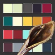 Палитра цветов ковки и патинирование
